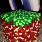 Minecraft 3D Dirt Block