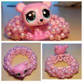 Pink Bear Cuff