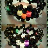 Rainbow Hearts Cuff
