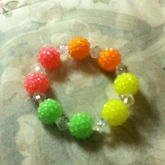 Berry Like Beads And Diamond Shaped One For A Family Friend