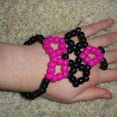 Large Star Wrist To Middle Finger Bracelet