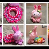 Easter Bunny Hello Kitty Cuffs