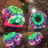 UFO Perler 3D Cuff