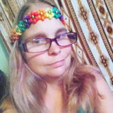 Rainbow Flower Headband
