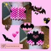 Pink Bat Cuff