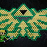 Legend Of Zelda TriForce (Peyote Stitch)