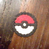 My Pokeball Perler