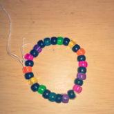 Rainbow Black Bracelet