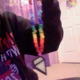 Rainbow W/ Perler Dimand