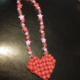 3D Kandi Heart Necklace