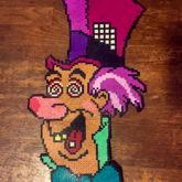 Mad Hatter Perler