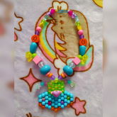 Ch0nky UFO Necklace, Kandi Pattern By Me!