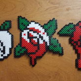 Painting The Roses Red Perlers