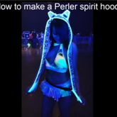 Tutorial Perler Spirit Hood
