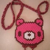 Front Of Gloomy Bear Purse