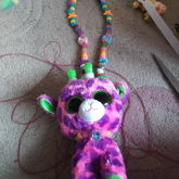 Ty Giraffe Necklace
