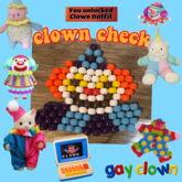 Clown Flat Charm
