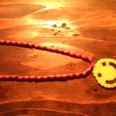 Perlerbead Smiley Face On A Perlerbead Neckless