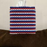 Square Tissue Box Cover (side View)