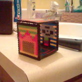 My 3D Brony Musicians Cutie Mark Square Perler