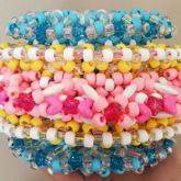 Triple Rotating Pansexual Pride Cuff