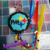 Pittsburgh Steelers Kandi Dream Catcher