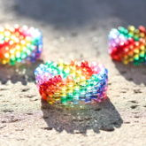 Small Rainbow Cuffs