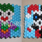 Joker/Harley Quinn Chibi Kandi Cuff Bracelet