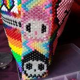 Nyan Hello Kitty Gloomy Bear Tokidoki Zim Mashup Backpack Side Panel II