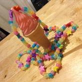 Ice Cream Kandi Necklace