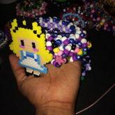 Alice In Wonderland Kandi Cuff 3D