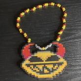 Lemon Demon Kandi Necklace