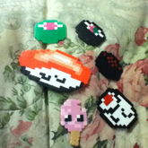 Sushi And Popslice Perlers