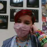 School Kandi + My New Short Red Hair :3