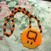 Q Dance Mushroom Necklace