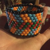 Cheveron Striped Cuff