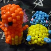 3D Dolls: Charmander And Squirtle