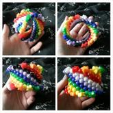 Spiral Rainbow Star Cuff For Trade