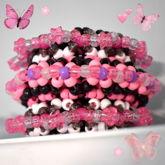 Super Mega Pink Fairy Rotating Cuff Idk 2/2