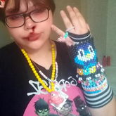 Right Arm With Kandi!