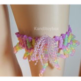 Glow In The Dark Fancy Kandi Garter