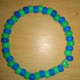 Green Blue Bracelet