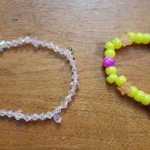 Glass Sparkle Single & Yellow Galaxy Single