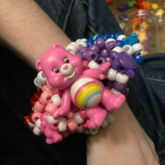 INSANE RAINBOW CAREBEAR UFO CUFF