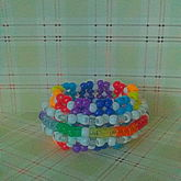Rainbow W/white Small Rotator Cuff