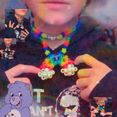 Kandi Rainbow Necklace?????? ?