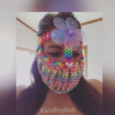 Flower Kandimask