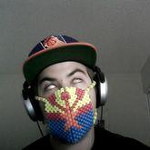 Arizona Flag Kandi Mask