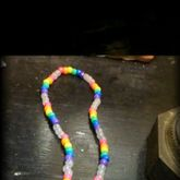 Kandi Peace Sign Necklace