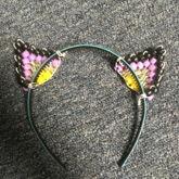 NB Cat Ear Headband